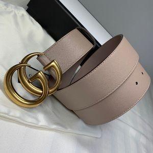 😘Dusty Pink GG belt